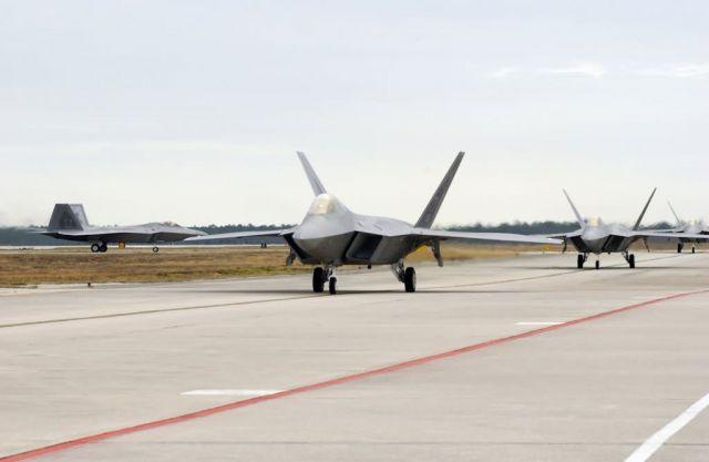 F/A-22 Raptors - More Raptors have landed Picture