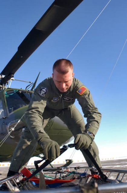 UH-1N - Helicopter crew starts new year with rescue Picture