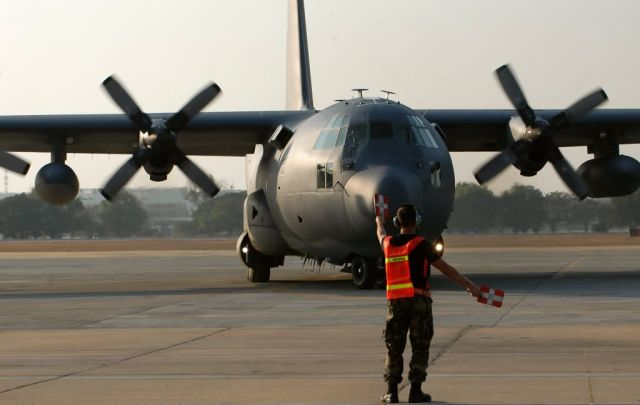 MC-130 - Airmen continue to deliver relief in Thailand Picture