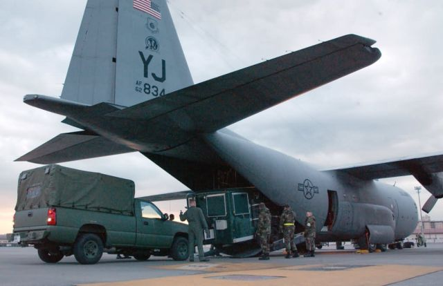 C-130 Hercules - PACAF Airmen coordinate Air Force relief efforts Picture