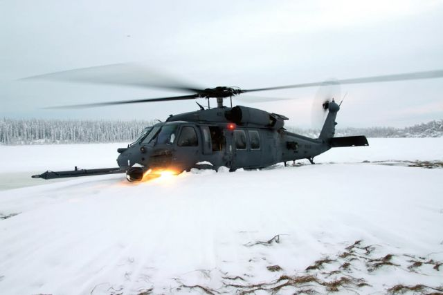 HH-60G Pave Hawk - Snow problem Picture