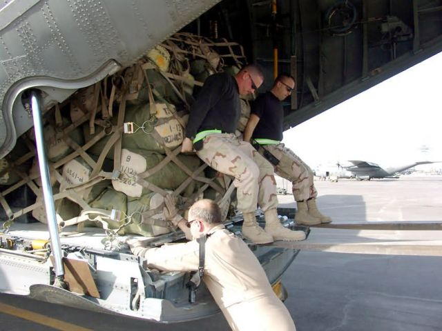 C-130 Hercules - Loader in waiting Picture