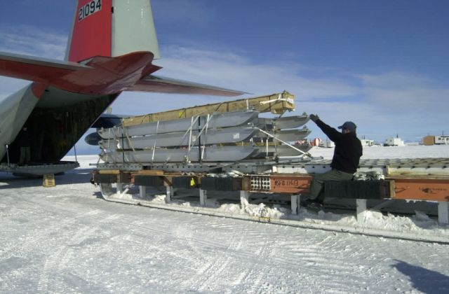 LC-130 Hercules - Air Guard retraces first flight to South Pole Picture