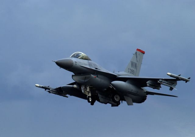 F-16 Fighting Falcon - Fighting Falcons at Keen Sword Picture
