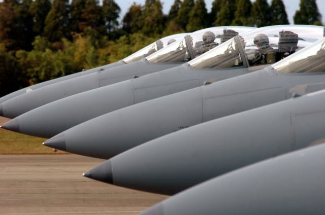 F-15 Eagles - So long Sword Picture