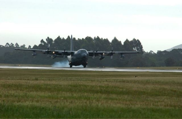 MC-130P - Reservists arrive in Uruguay for exercise Picture