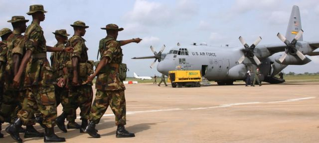 C-130 Hercules - Airmen visit Rwanda genocide memorial Picture