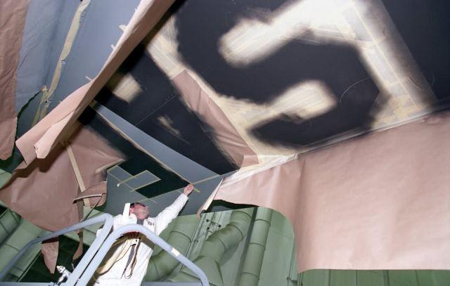 KC-135 - Painters produce picture-perfect planes Picture
