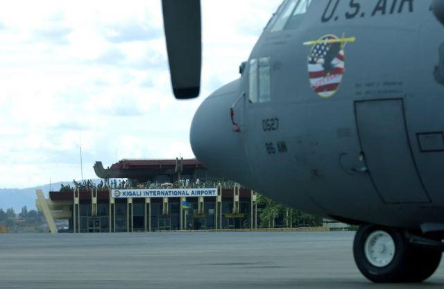 C-130 Hercules - Airmen prepare for humanitarian relief efforts Picture