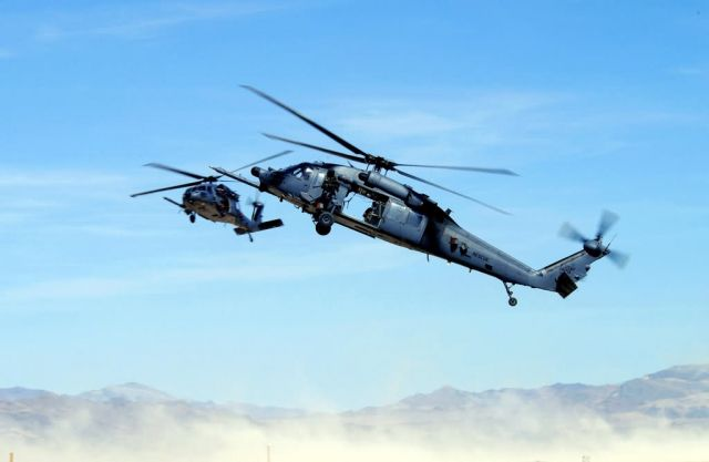 HH-60 Pave Hawks - Rescue mission Picture