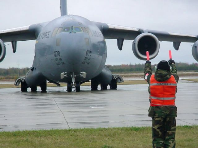 C-17 Globemaster III - AMC exercise kicks off in Michigan Picture