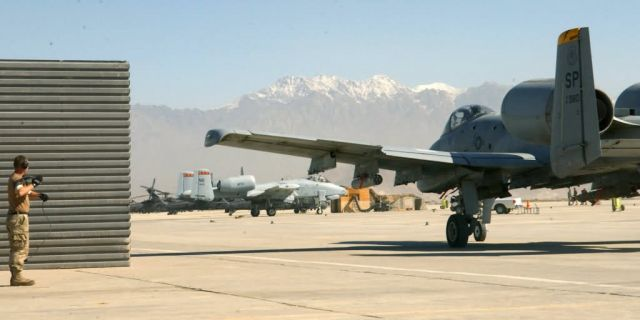 A-10s - Active-duty, reservists combine forces in Afghan sky Picture