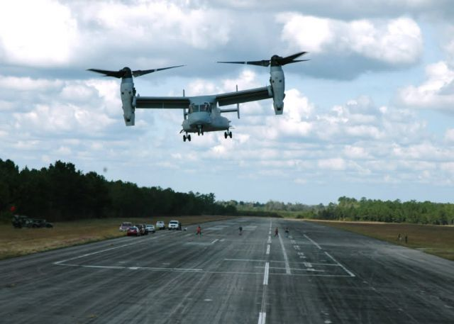 MV-22 Osprey - Roche, Jumper 'wear test' Osprey Picture