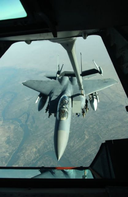 F-15E - Tankers fuel war on terror Picture