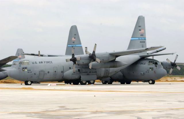 C-130 Hercules - Fierce tornado Picture