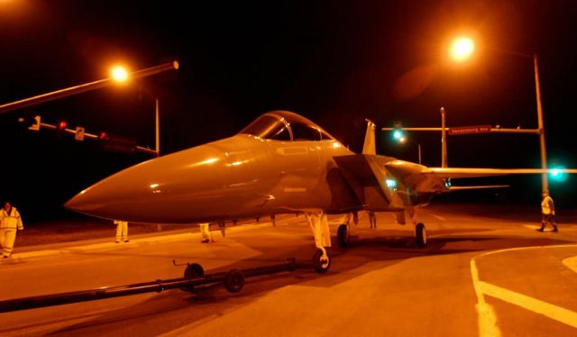F-15 Eagle - Not-so-static display Picture