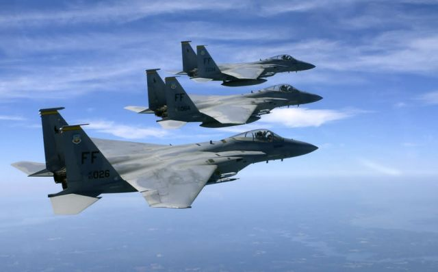 F-15 Eagle - Eagles fly the nest Picture