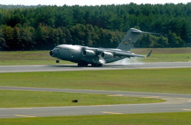 C-17 Globemaster III - McGuire welcomes first C-17 Globemaster III Picture