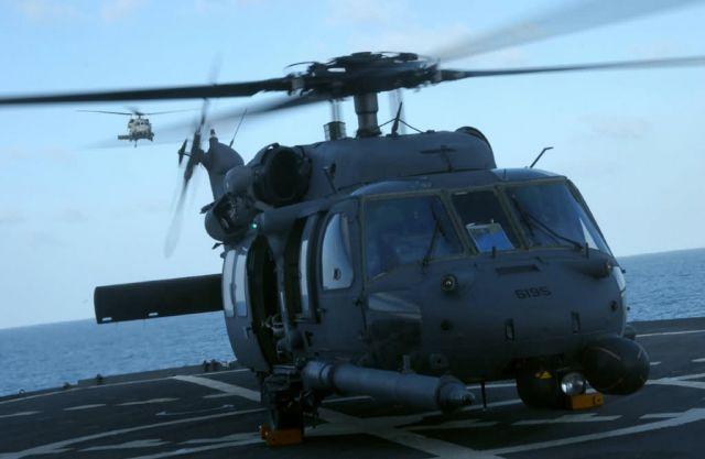 HH-60G Pave Hawk - A 'chopper' landing Picture