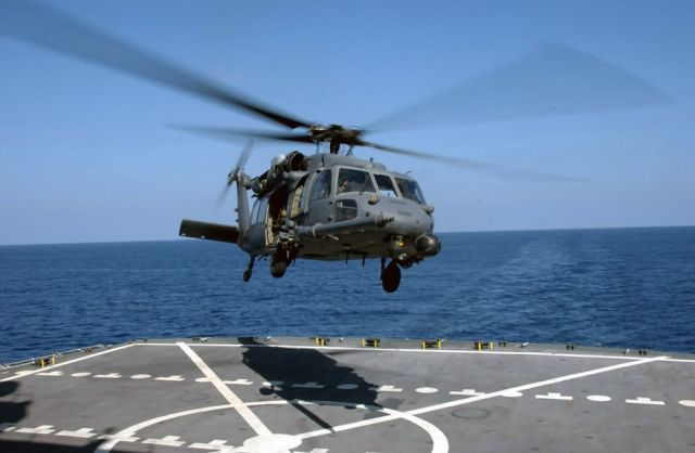 HH-60G Pave Hawk - A 'chopper' landing Picture