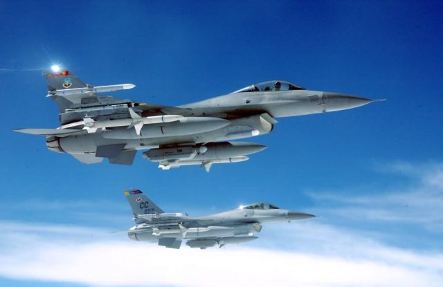 F-16C - Falcons ruling the skies Picture