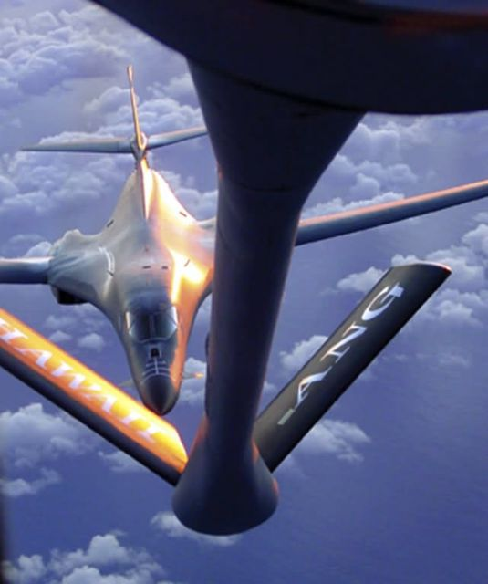 B-1B Lancer - Total force strikes the Pacific Picture