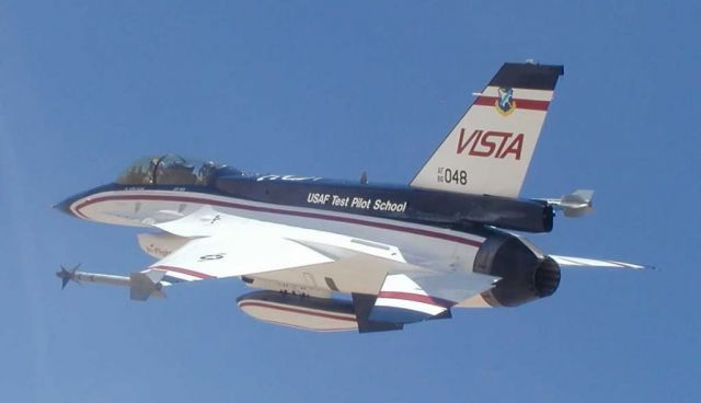 F-16 - VISTA F-16 will test airborne safety system Picture