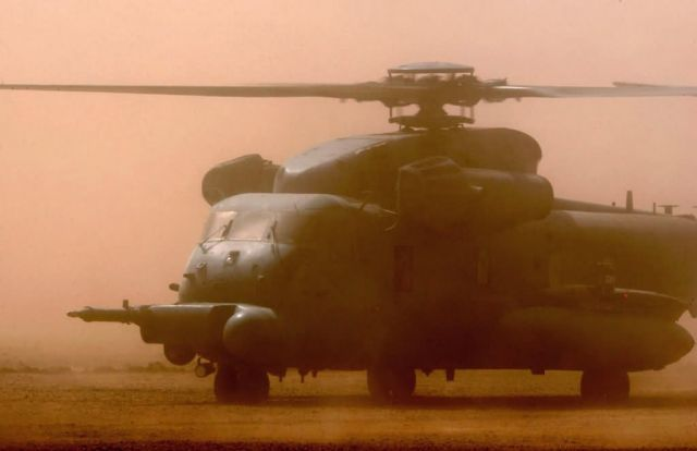 MH-53M - Dust in the wind Picture