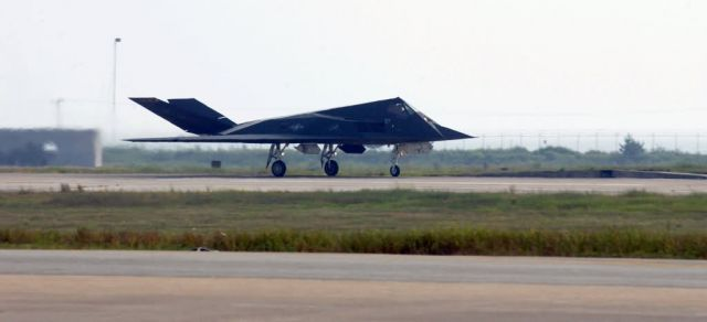 F-117 Stealth Fighter - Time for take off Picture