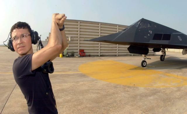 F-117 Stealth Fighter - A stealth launch Picture