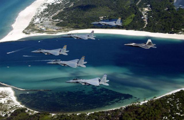 F-15 Eagles - Cruisin' Florida Picture
