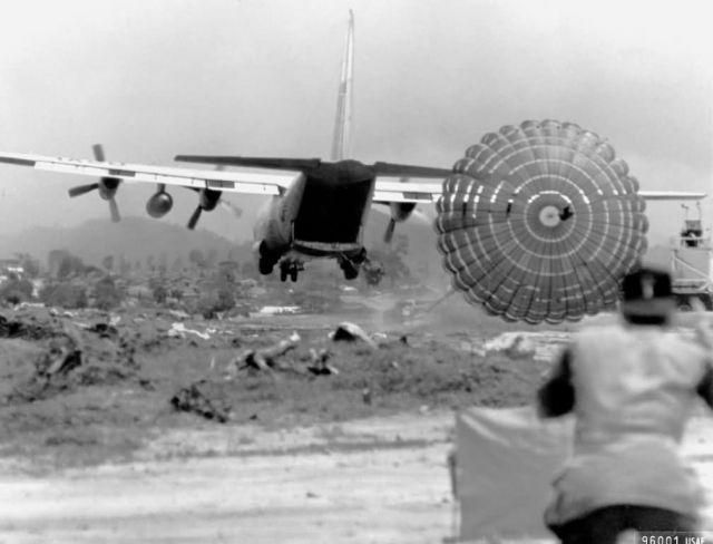 C-130 Hercules - Delivering supplies Picture