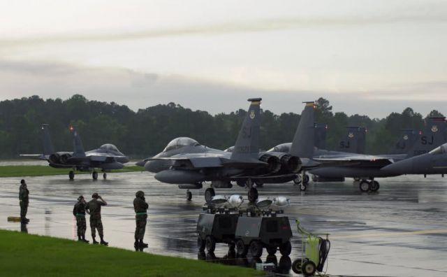 F-15E Strike Eagle - President Ronald Reagan's funeral procession Picture