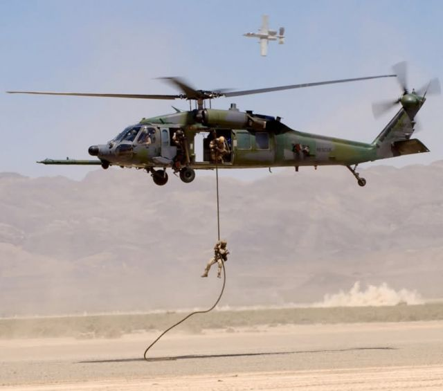 HH-60G Pave Hawk - Downed on the range Picture