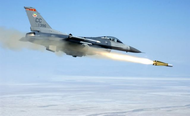 F-16C - On target Picture