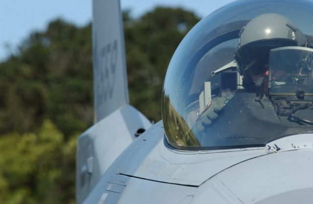 F-16 Fighting Falcon - Rest stop Picture