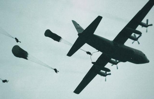 C-130 Hercules - Jump! Picture