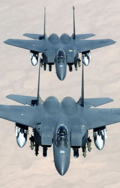 F-15E Strike Eagles - Fly like an eagle Picture