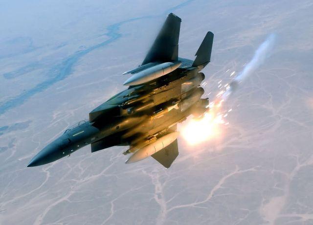 F-15E - Light in the sky Picture