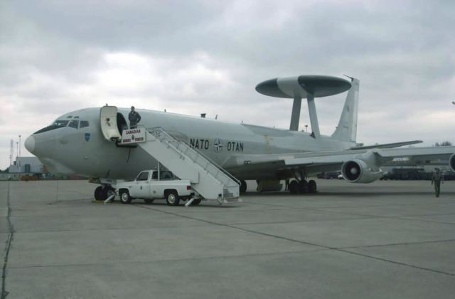 E-3A - NATO E-3A Airborne Warning and Control System Picture
