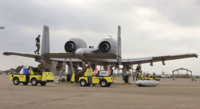 A-10 Thunderbolt II - Stormy competition Picture