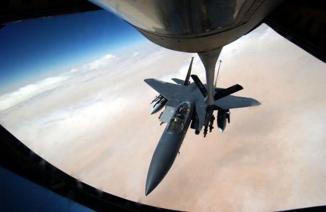 F-15E Strike Eagle - Fueling up an Eagle Picture