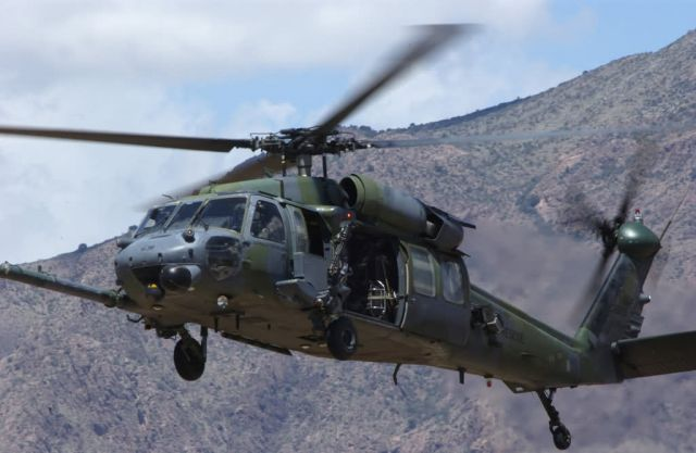 HH-60G Pave Hawk - It's all live Picture