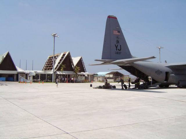 Yokota Air Base - Typhoon Sudal Picture
