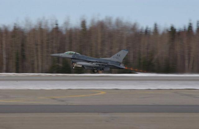 F-16 Fighting Falcon - Falcon flame Picture