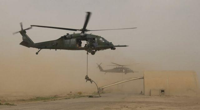 HH-60G Pave Hawk - Drop zone Picture