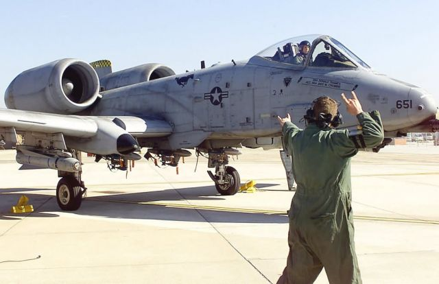 A-10 Thunderbolt II - Inspected launch Picture