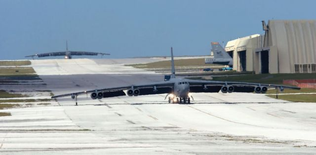 B-52 - Minot B-52 ground crews deployed at Guam Picture