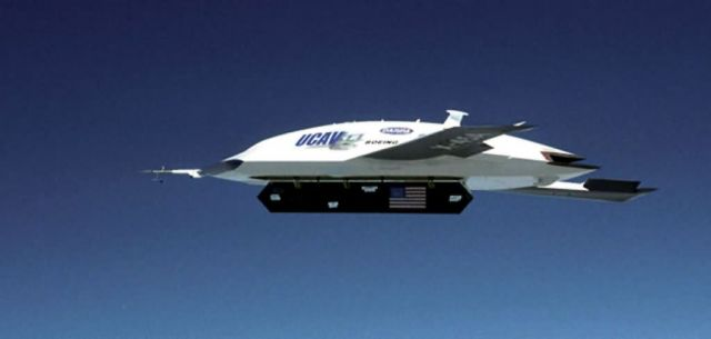 X-45A - X-45A successfully releases inert weapon Picture
