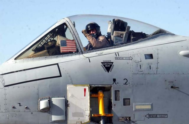 A-10 Thunderbolt II - A-10 pilot takes aim on terrorism Picture
